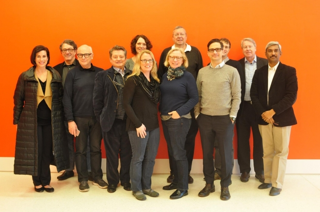 The 2016 AAO Board of Directors pose for a group shot during their winter Board Planning Retreat in New York last month.