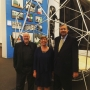 2015 AAO Design Matters Conference speakers Mark Hinshaw, Carol Rhea, and Jim Drinan touring the Chicago Architecture Biennial