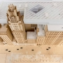 Exhibition: SOM Prize and Travel Fellowship Award in Architecture, Design & Urban Design, aerial view of model