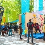 The Design Block in Pioneer Square for the 2013 Seattle Design Festival.