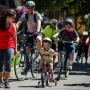 All ages out enjoying Sunday Streets HTX. Photo Credit: Andrew Seng / University of Oregon Emerald.