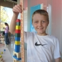 """One of our most popular exhibitions is held at the holidays: Through A Child's Eyes: Building Toys and Toy Buildings.  Kids of all ages get to try their hand in our """"Construction Zone."""""""